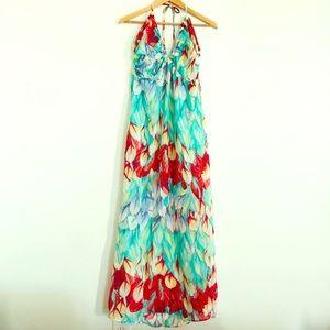Ali & Kris Floral Maxi Dress